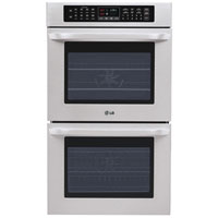 LG LWD3010ST 30 in. Stainless Convection Double Wall Oven - LWD3010ST - IN STOCK