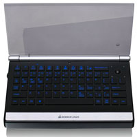 IOGEAR 2.4GHz Multimedia Mini Keyboard with Laser Trackball - GKM571R - IN STOCK