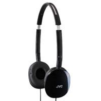 JVC FLATS Lightweight Headphones - HA-S160-BX / HAS160BX - IN STOCK