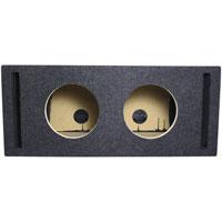 Atrend Dual 8 in. Vented Subwoofer Enclosure Box - 8DQV - IN STOCK