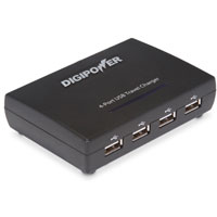 Digipower 4-Port USB AC Adapter & Charger - ACD-4USB / ACD4USB - IN STOCK