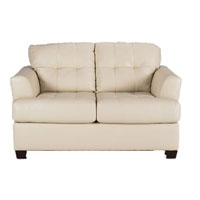Ashley Signature Design Ivory DuraBlend Faux-Leather Loveseat - 9460235 - IN STOCK