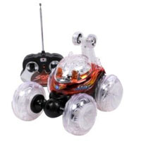 Odyssey Super Stunt Twister Remote Control Car (Red) - ODY-4809R / ODY4809R - IN STOCK