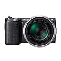 Sony αNEX-5N 16.1 MP Mirrorless Camera W/ E 18-55mm OSS Lens - NEX5-NKB / NEX5NKB - IN STOCK