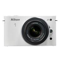 Nikon 1 10.0 MP Mirrorless Camera W/ 1 VR Nikkor 10-30mm Kit Lens - NIKON1J1WH / NIKON1J1 - IN STOCK