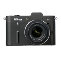 Nikon 1 10.0 MP Mirrorless Camera W/ 1 VR Nikkor 10-30mm Kit Lens - NIKON1V1 - IN STOCK