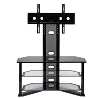 Z-Line Madrid Flat Panel TV Stand with Integrated Mount (Black) - ZL541-44MU / ZL54144MU - IN STOCK