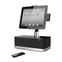 iLuv Speaker with rotating dock for iPad - IMM514BLK - IN STOCK