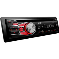 JVC CD Receiver with Dual Auxiliary Inputs - KD-R330 / KDR330 - IN STOCK