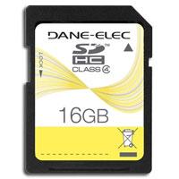 Dane-Elec 16GB SDHC Card - DA-SD-16GB-R / DASD16GB - IN STOCK