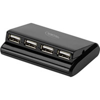 Digital Innovations Connect Plus Charge 4-Port USB Travel Hub - 4390100 - IN STOCK