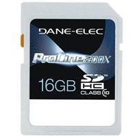 Dane-Elec High Speed 16GB SDHC Flash Card - DA-SD-1016G-C / DASD1016G - IN STOCK