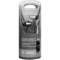 Vibe Sound In-Ear Headphones (Silver) - VS76-SLV / VS76SLV - IN STOCK