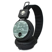 SUBJEKT TNT Headphones W/ Mic - Black Camo - TNT-QM1125 / QM1125 - IN STOCK