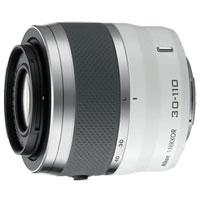 Nikon 1 NIKKOR VR 30-110mm f/3.8-5.6 Zoom Lens (White) - VR30110MM - IN STOCK