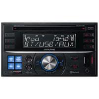 Alpine Double-DIN Bluetooth CD Receiver - CDE-W235BT / CDEW235BT