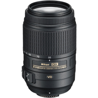 Nikon Super-telephoto 5.5x zoom lens with Vibration Reduction II - 2197 / 55-300MM VR / 55300MMVR - IN STOCK