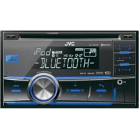 JVC 2-DIN Bluetooth Dual USB-CD Receiver - KWR800 - IN STOCK