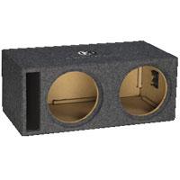 Memphis Audio Dual 10 in. Vented Subwoofer Enclosure - 15PE2X10V2 - IN STOCK