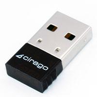 Cirago USB Micro Bluetooth 3.0 Adapter - BTA6310 - IN STOCK