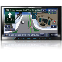 Pioneer 7 in. Indash Navigation A/V Reciever - AVIC-Z140BH / AVICZ140 - IN STOCK