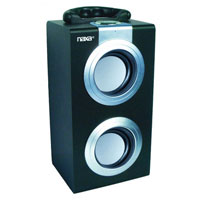Naxa Portable Speaker with USB/SD/MMC Inputs & FM Radio - NAS-3035SIL / NAS3035SIL - IN STOCK