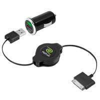 Emerge Tech Retractable Car Charger for iPad - ETIPADCAR - IN STOCK
