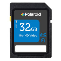 Polaroid 32GB class 10 SDHC memory card - P-SDHC32G10-EFPOL / PSDHC32G10 - IN STOCK