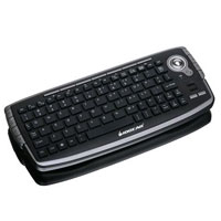IOGEAR 2.4GHz Wireless Compact Keyboard with Optical Trackball - GKM681R - IN STOCK