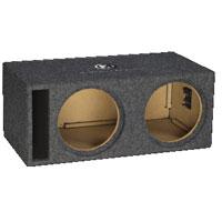 Memphis Audio Dual 12 in. Vented Subwoofer Enclosure - 15PE2X12V2 - IN STOCK