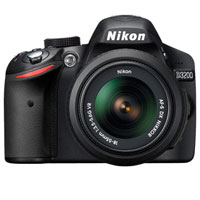 Nikon D3200 24.2 MP DSLR W/ DX VR Nikkor 18-55mm Kit Lens - 25492 / D3200 - IN STOCK