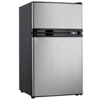Danby DCRM31BSLDD 3.0 Cu. Ft. Stainless Two Door Compact Refrigerator - DCRM31BSLDD - IN STOCK