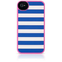 Agent 18 StripeVest Silicone Case for iPhone 4/4S - GIPHSXQC - IN STOCK