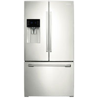 Samsung RF263BEAEWW 24.6 Cu. Ft. White French Door Refrigerator - RF263TEAEWW/AA / RF263BEAEWW - IN STOCK