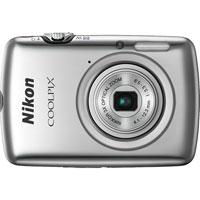 Nikon COOLPIX 10.1 Megapixel Digital Camera (Silver) - S01SL - IN STOCK