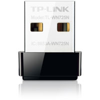 TP-Link 150Mbps wireless N Nano USB adapter - TL-WN725N / TLWN725N - IN STOCK