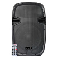 Supersonic 15 in. Professional Speaker with Docking Station - SC-16DJ / SC16DJ - IN STOCK