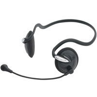 Gear Head Behind the Neck Stereo Headset with Microphone - AU2200BN - IN STOCK