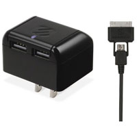 Scosche reVOLT Dual 2.1A USB Home Charger - IUSBH202 - IN STOCK