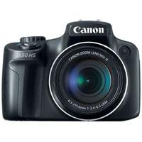 Canon PowerShot 12.0 Megapixel Digital Camera (Black) - PowerShot SX50 HS / 6352B001 / SX50 - IN STOCK