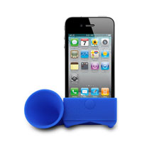 Digital Gadgets iHorn for iPhone (Blue) - DHPHHORNBL - IN STOCK
