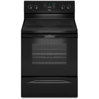 Whirlpool WFE510S0AB 4.8 Cu. Ft. Black Freestanding Range - WFE510S0AB - IN STOCK