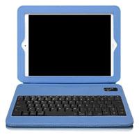Aluratek Ultra Slim Folio iPad Case with Keyboard (Blue) - ABTK02FSB - IN STOCK