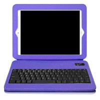 Aluratek Ultra Slim Folio Case with Keyboard (Purple) - ABTK02FV - IN STOCK