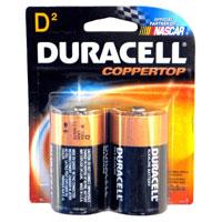 Duracell D Alkaline Batteries (Pair) - MN1300B2 - IN STOCK