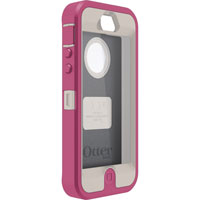 OtterBox Defender Series iPhone 5 Case (Grey/Pink) - 7722122 - IN STOCK