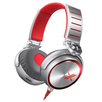 Sony X Over-Ear Headphones - MDR-X10RED / MDRX10RED - IN STOCK