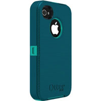 OtterBox Defender Series iPhone 4/4S Case (Teal) - 7718585B / APL2I4SUNE8 - IN STOCK