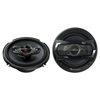 Pioneer 6 1/2 in. 350W, 4-Way Speakers - TS-A1685R / TSA1685 - IN STOCK