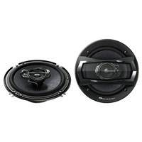 Pioneer 6 1/2 in. 300W, 3-Way Speakers - TS-A1675R / TSA1675 - IN STOCK